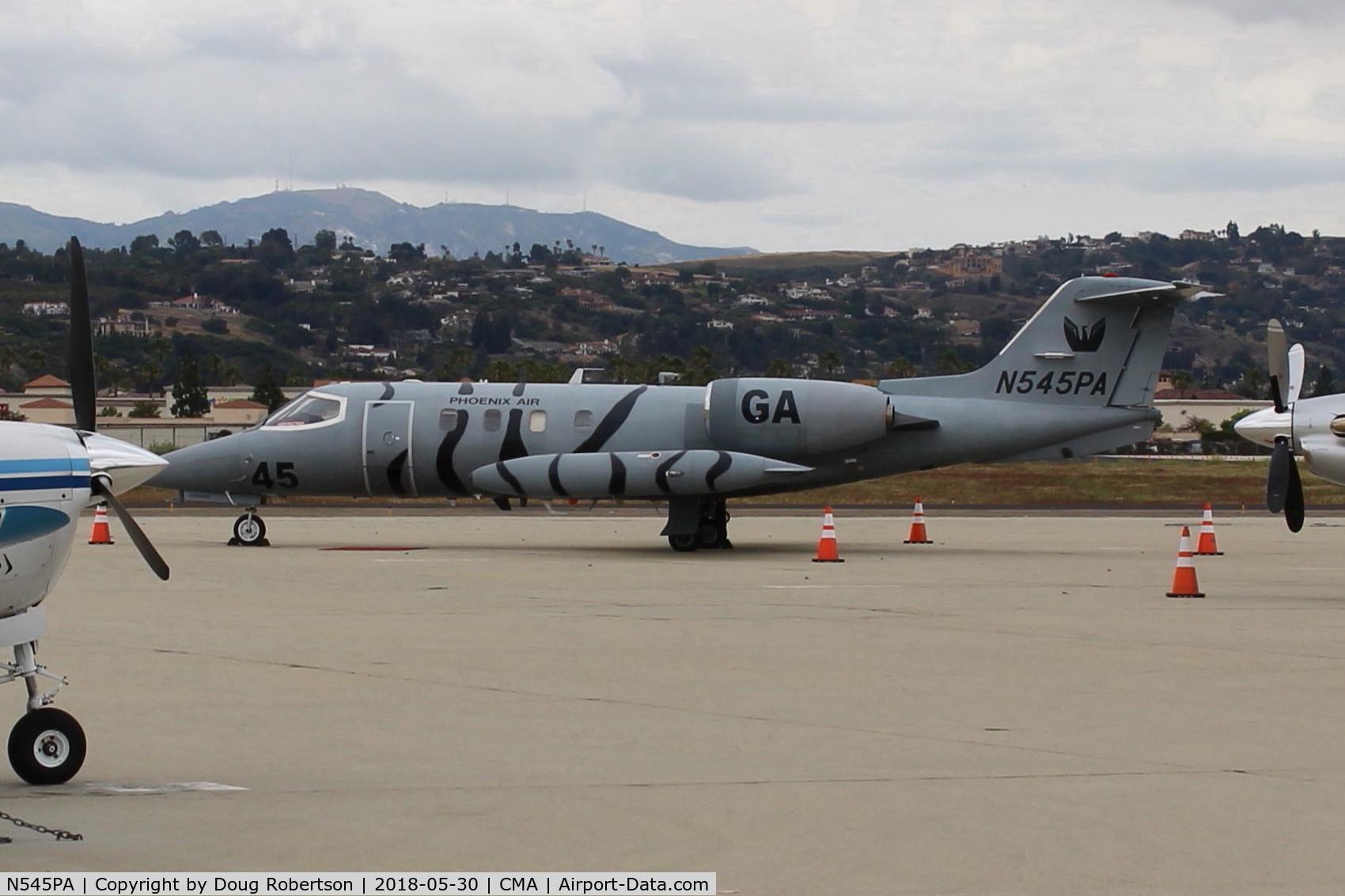 N545PA, 1977 Gates Learjet 36A C/N 36A-028, 1977 Gates LearJet 36A, two TurboFans