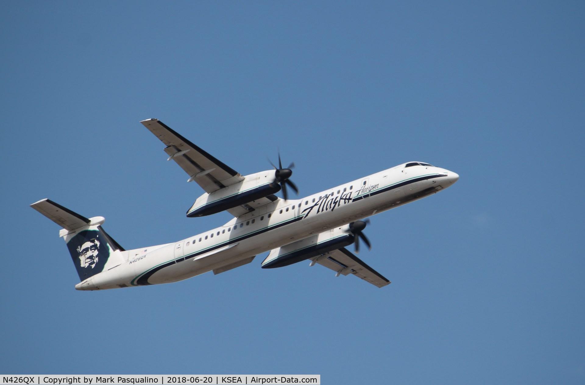N426QX, 2007 Bombardier DHC-8-402 Dash 8 C/N 4154, DHC-8-402