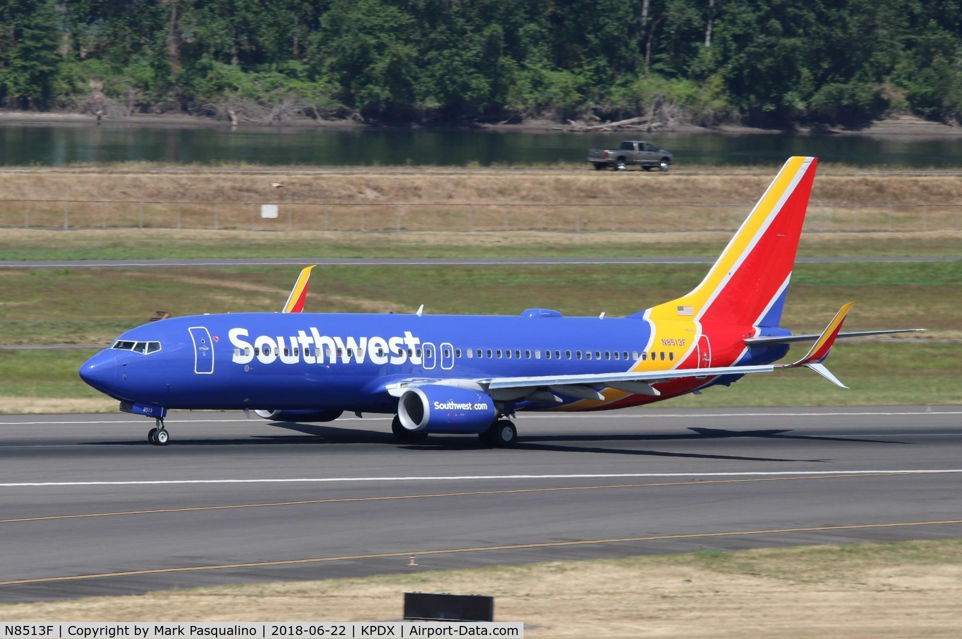 N8513F, 2016 Boeing 737-8H4 C/N 36976, Boeing 737-800