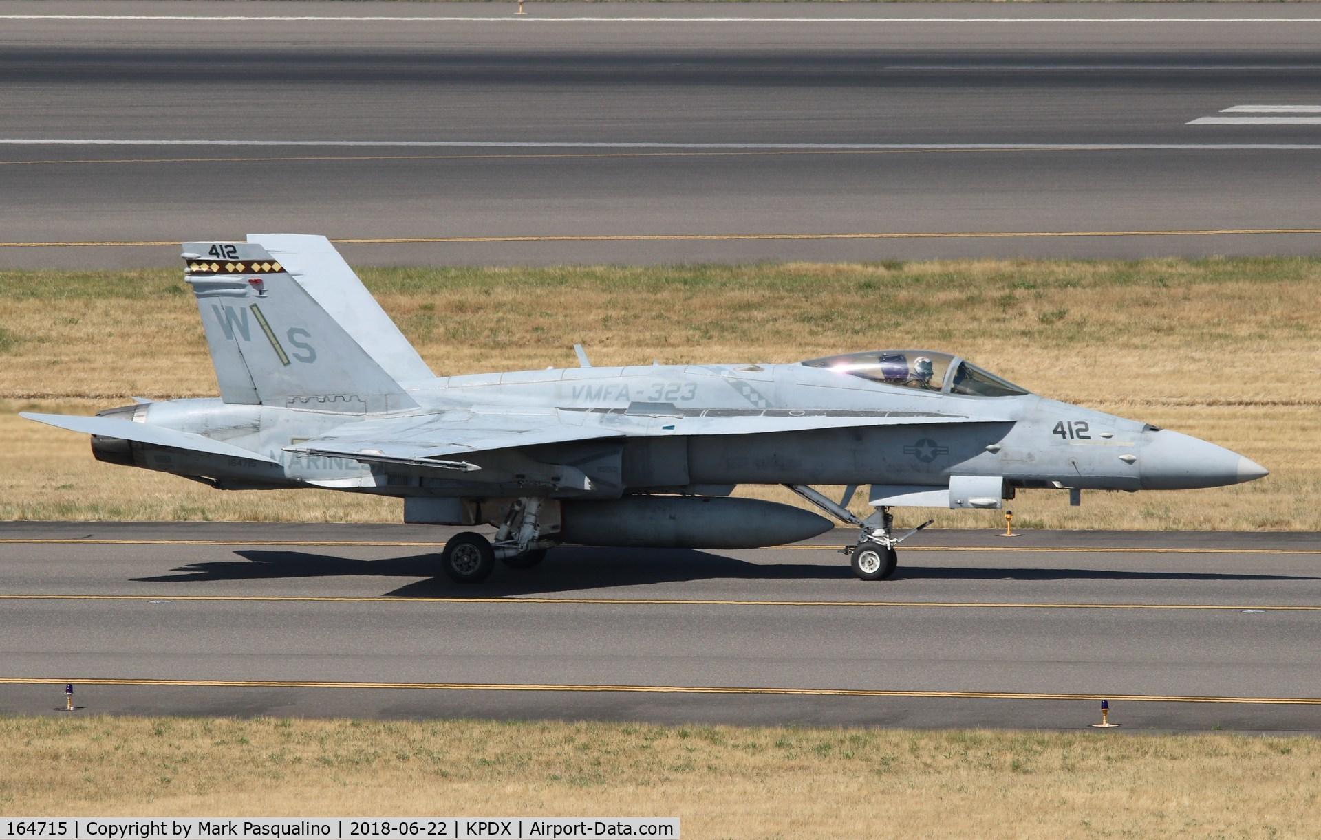 164715, McDonnell Douglas F/A-18C Hornet C/N 1160/C318, McDonnell Douglas F/A-18C
