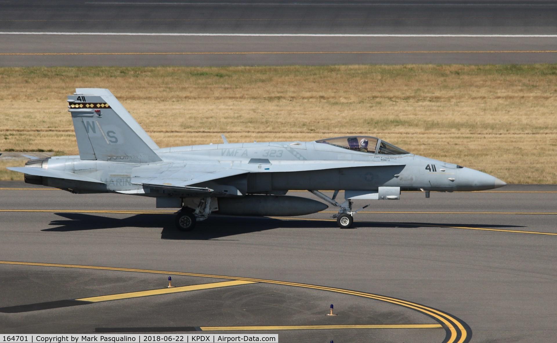 164701, McDonnell Douglas F/A-18C Hornet C/N 1140/C308, Mcdonnell Douglas F/A-18C