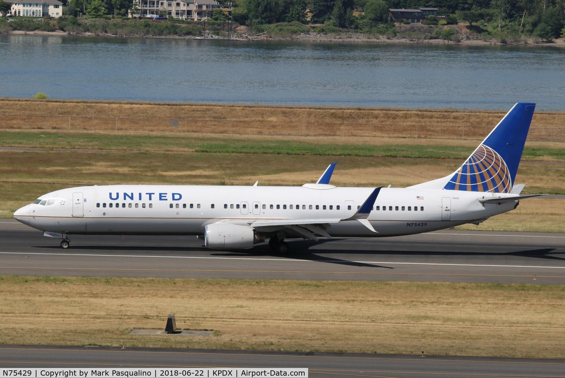 N75429, 2008 Boeing 737-924/ER C/N 30130, Boeing 737-900ER