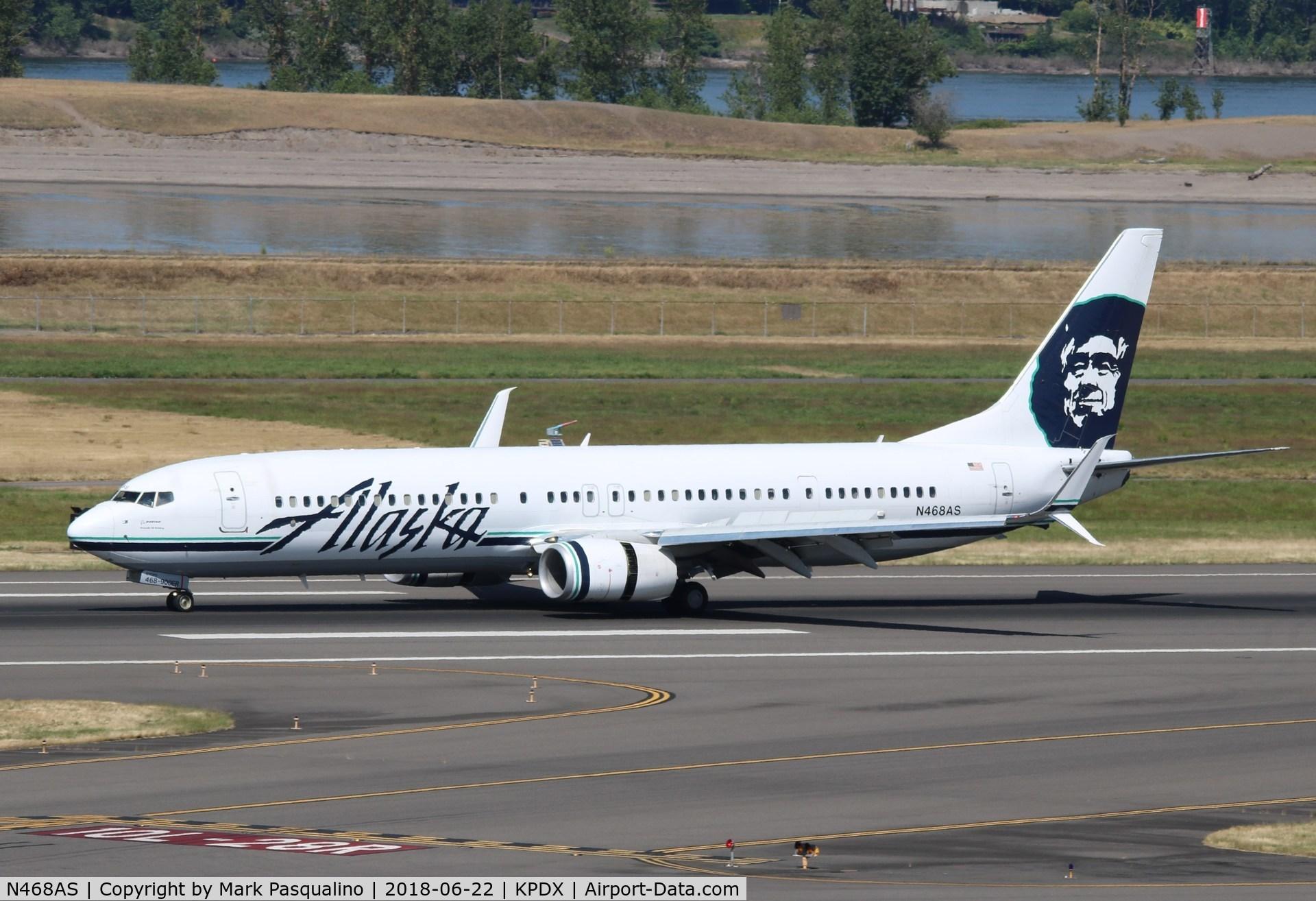 N468AS, 2014 Boeing 737-990/ER C/N 41735, Boeing 737-900ER