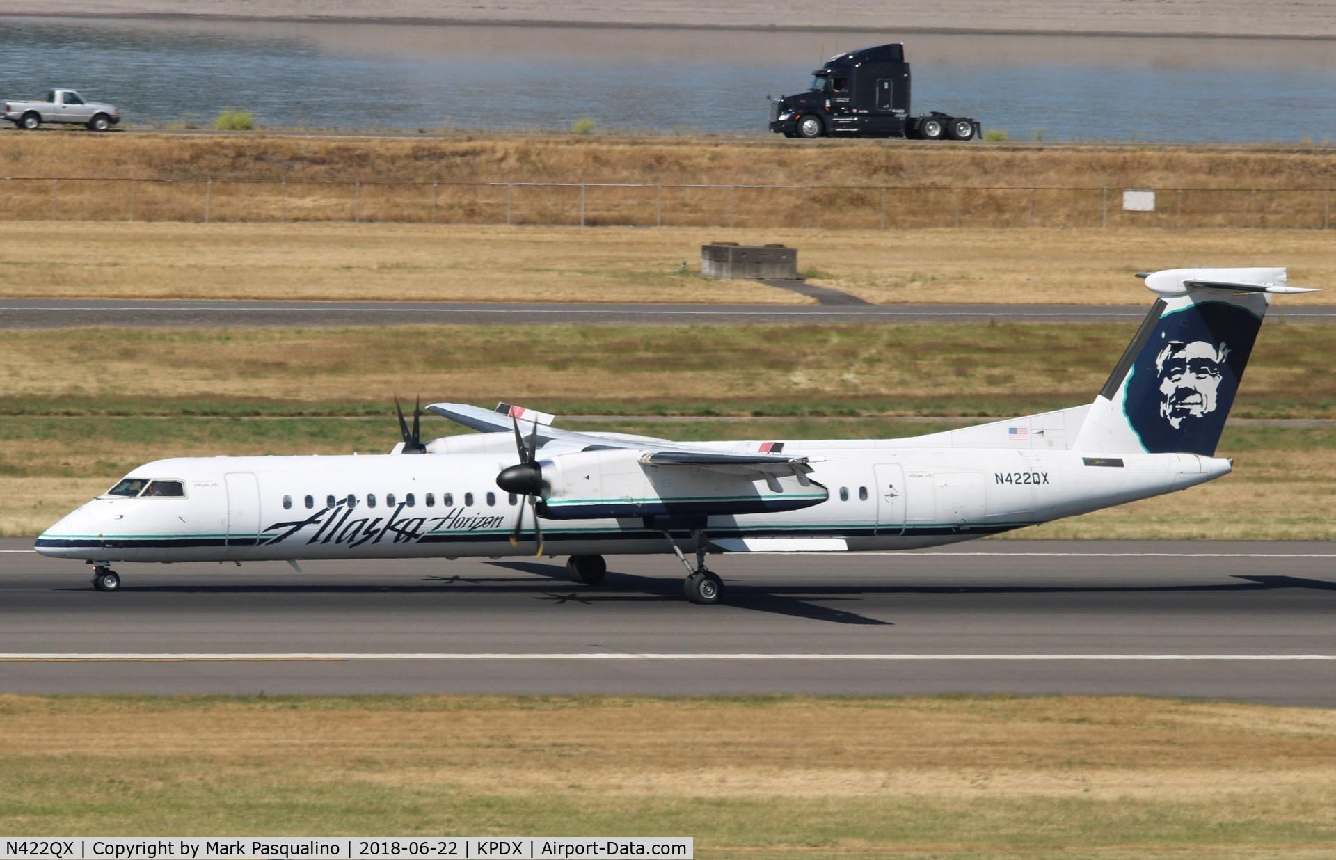 N422QX, 2007 Bombardier DHC-8-402 Dash 8 C/N 4150, DHC-8-402