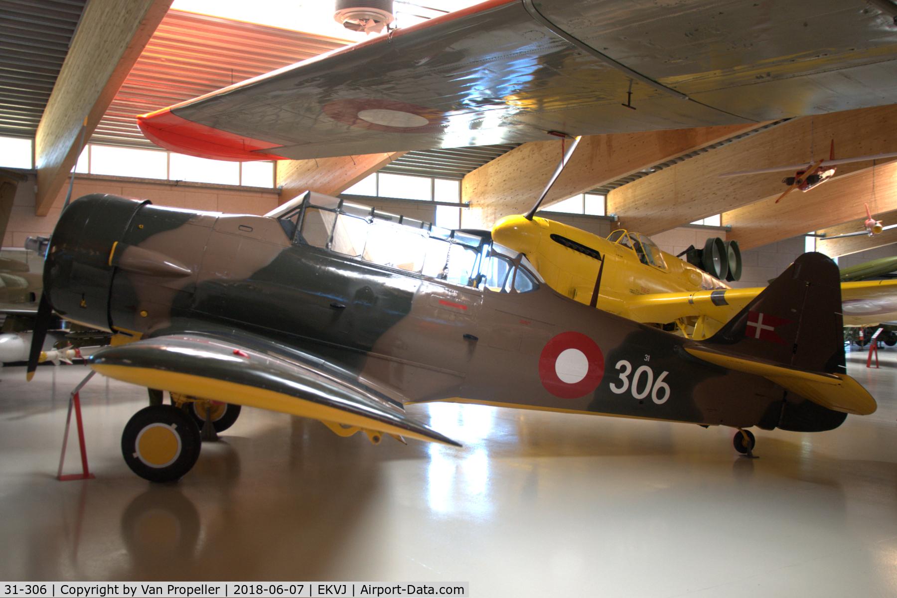 Aircraft 31-306 (Noorduyn AT-16-ND Harvard IIB C/N 14-748