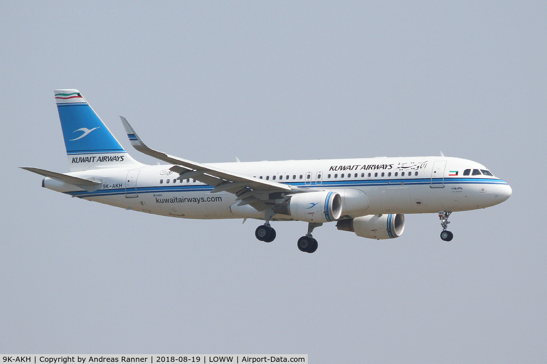 9K-AKH, 2015 Airbus A320-214 C/N 6476, Kuwait Airways A320