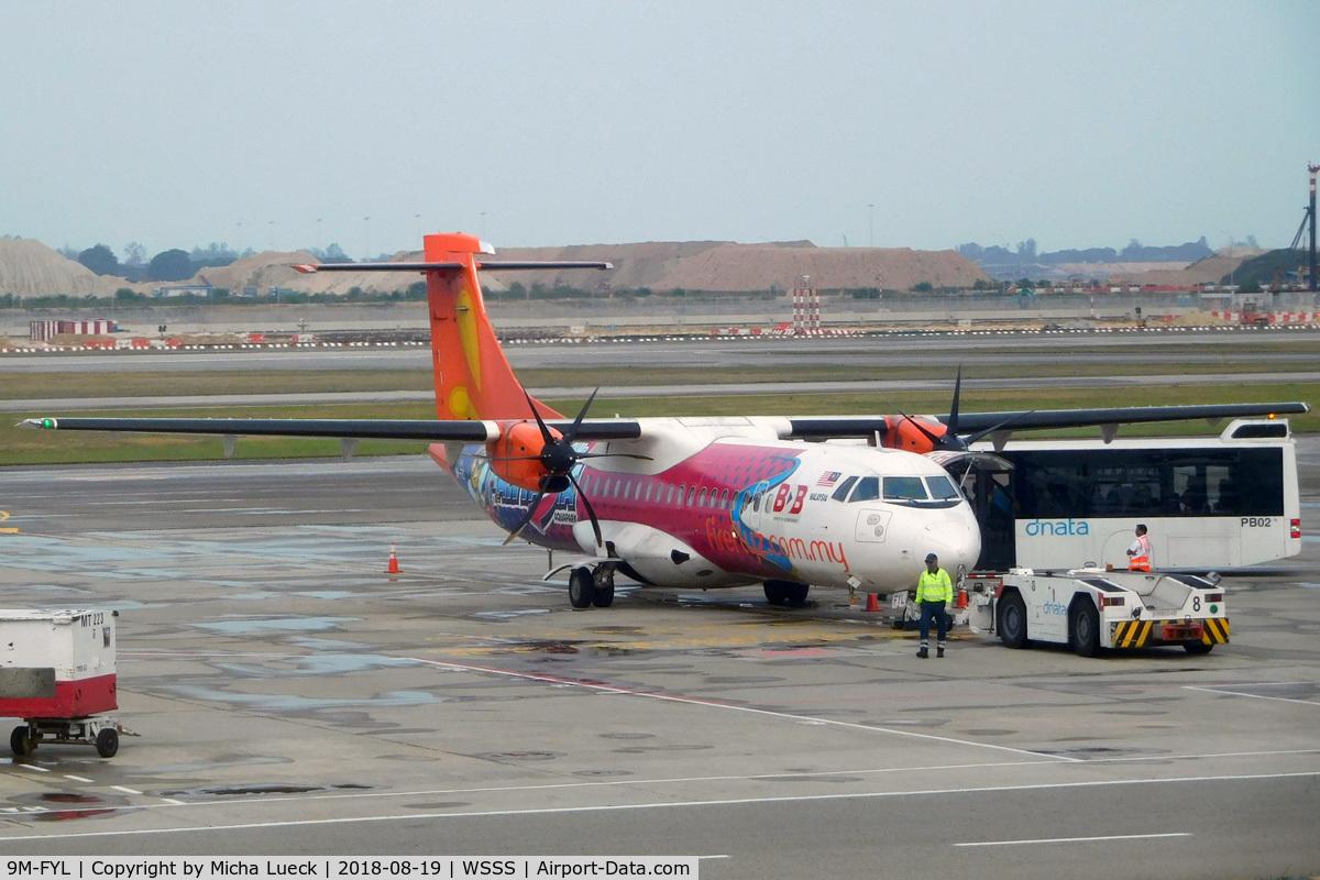 9M-FYL, 2011 ATR 72-212A C/N 948, At Changi