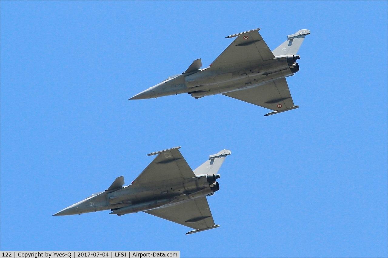122, Dassault Rafale C C/N 122, Dassault Rafale C, Flight over St Dizier-Robinson Air Base 113 (LFSI)