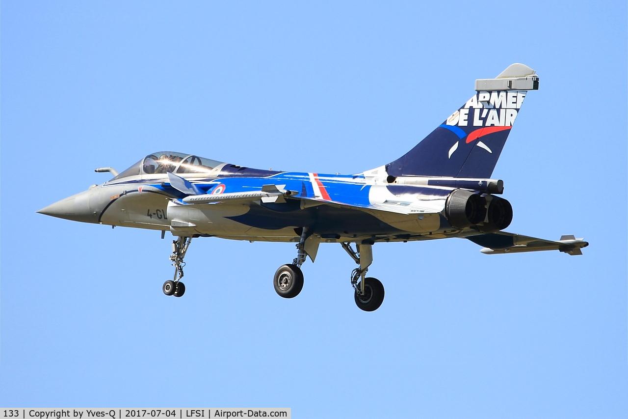 133, Dassault Rafale C C/N 133, Dassault Rafale C, On final rwy 29, St Dizier-Robinson Air Base 113 (LFSI)