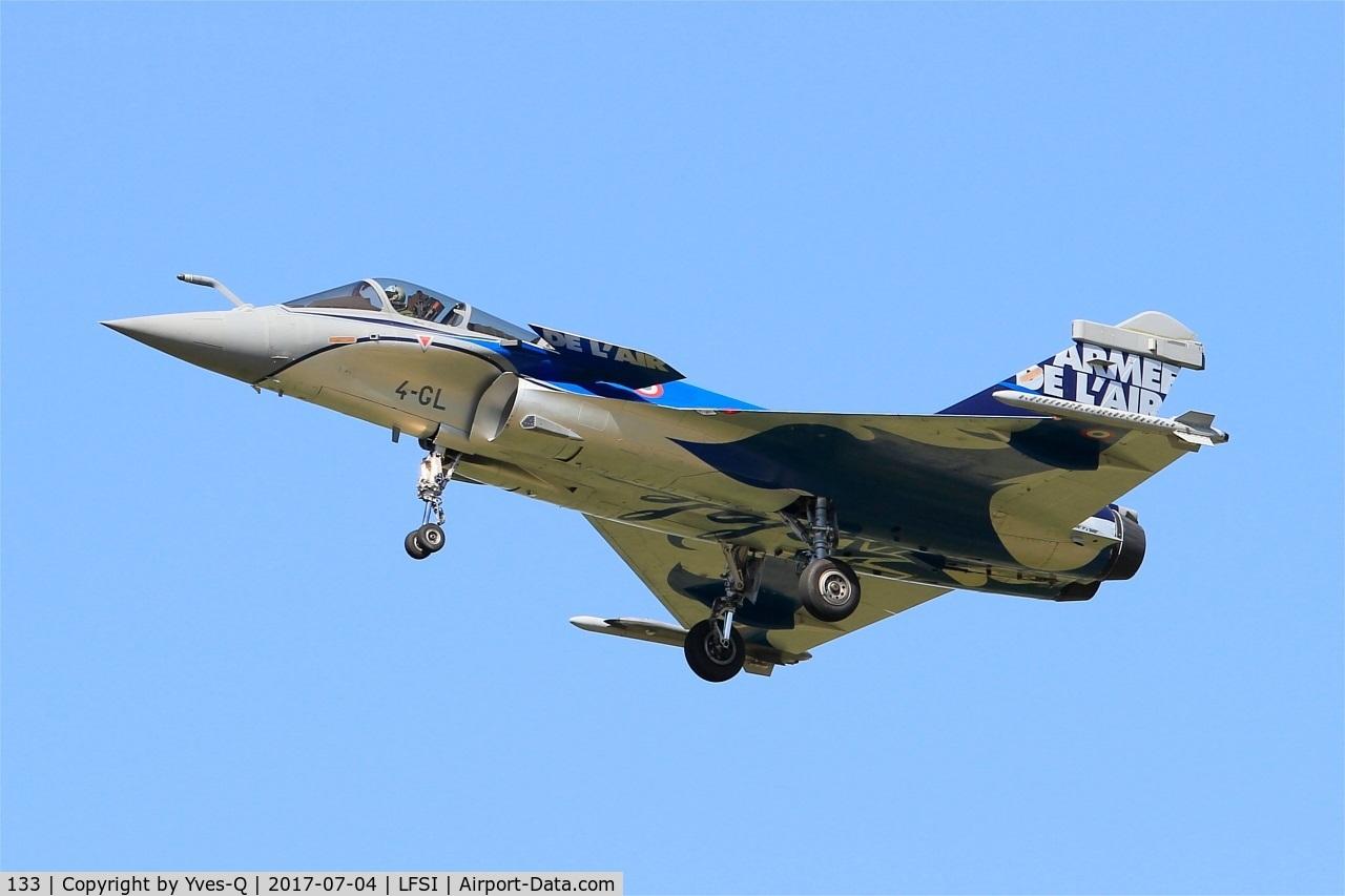 133, Dassault Rafale C C/N 133, Dassault Rafale C, Short approach rwy 29, St Dizier-Robinson Air Base 113 (LFSI)