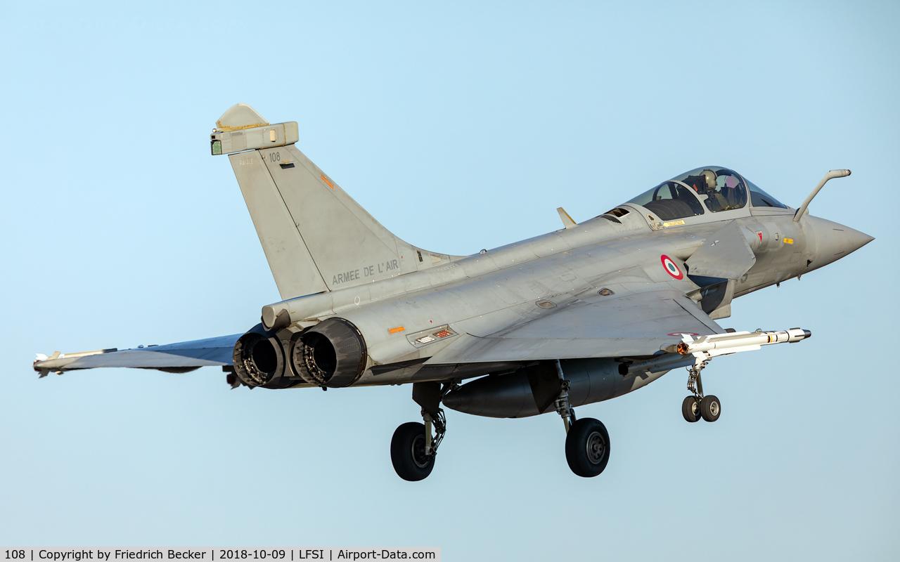 108, Dassault Rafale C C/N 108, on final