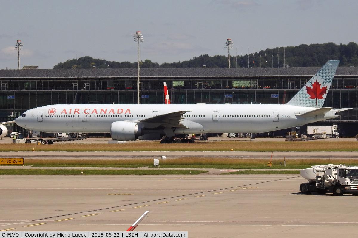 C-FIVQ, 2008 Boeing 777-333/ER C/N 35240, At Zurich