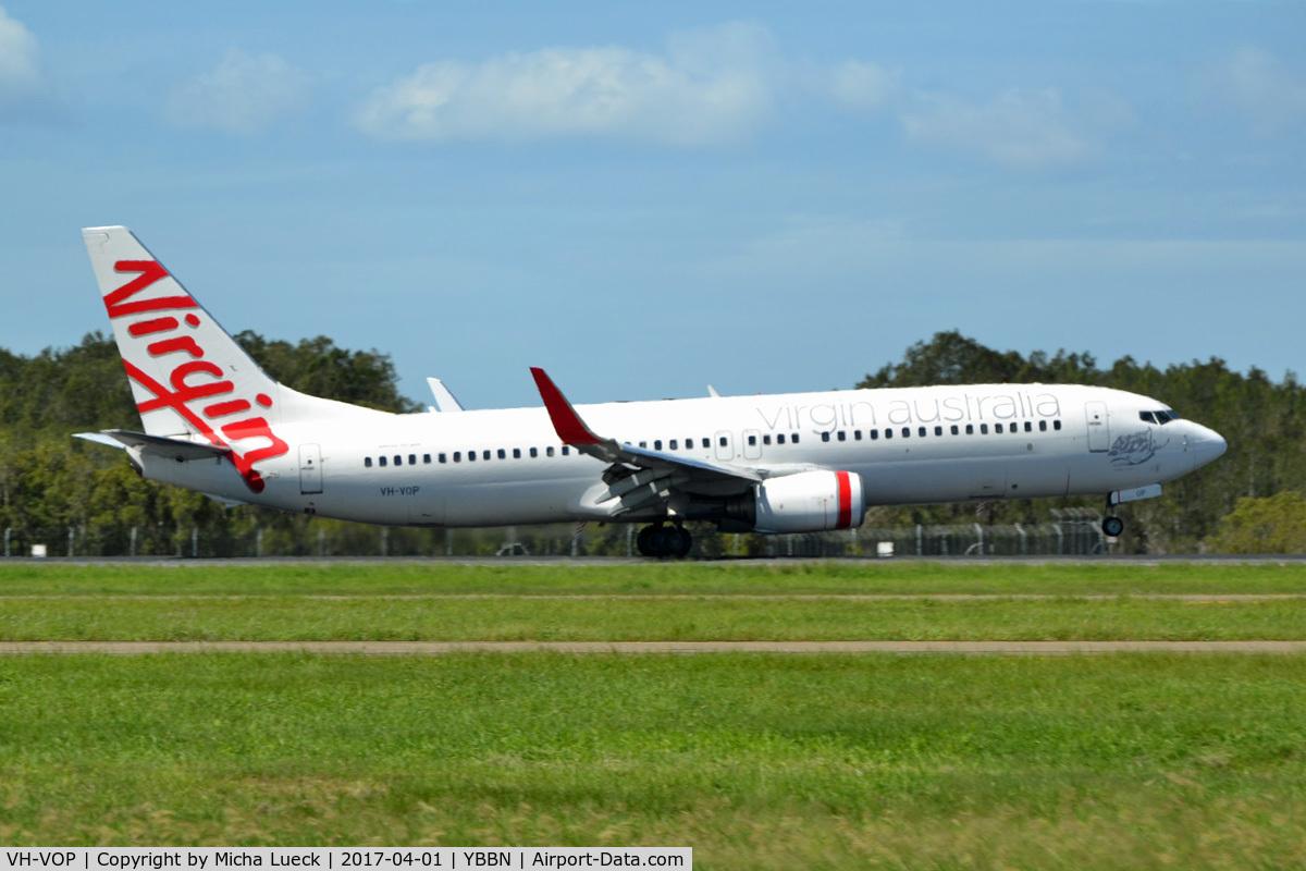 VH-VOP, 2003 Boeing 737-8FE C/N 33797, At Brisbane