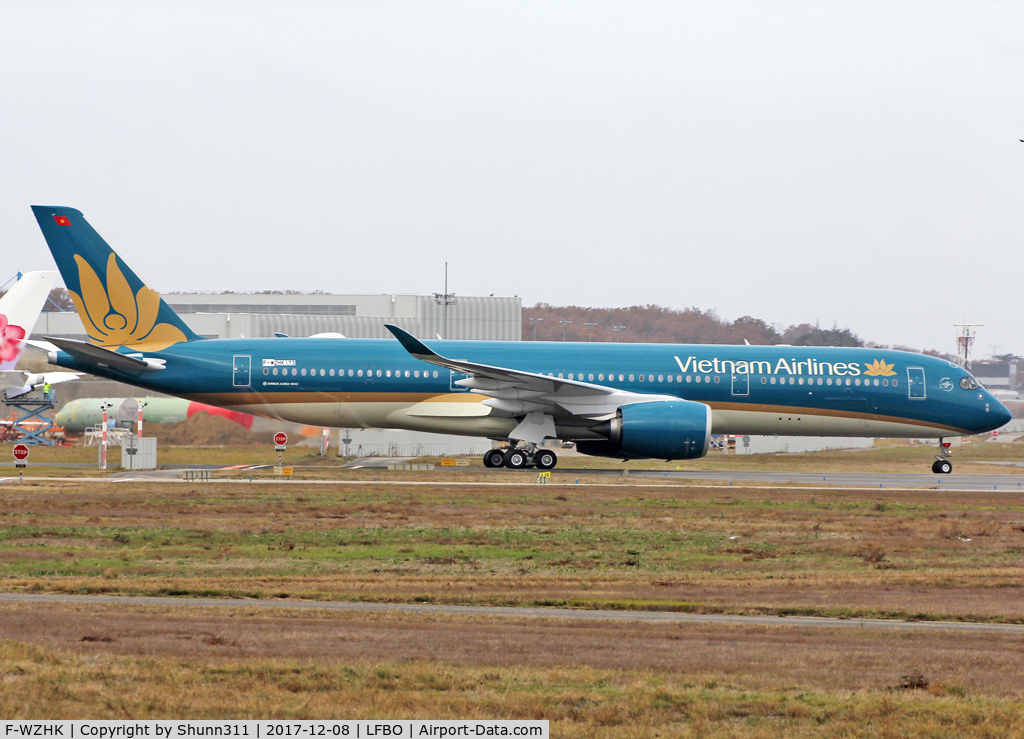 F-WZHK, 2017 Airbus A350-941 C/N 173, C/n 0173 - To be VN-A895