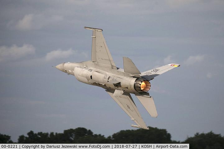 00-0221, 1993 Lockheed Martin F-16CM Fighting Falcon C/N CC-183, F-16CM Fighting Falcon 00-0221 SW from 79th FS