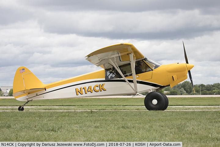 Aircraft N14CK (2017 Cub Crafters CCK-1865 Carbon Cub C/N CCK-1865