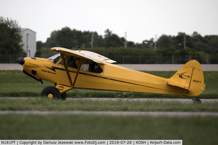 Aircraft N181PT (Cub Crafters CC11-160 Carbon Cub SS C/N CC11-00181