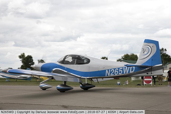Aircraft N265WD (2015 Vans RV-10 C/N 40276) Photo by Dariusz