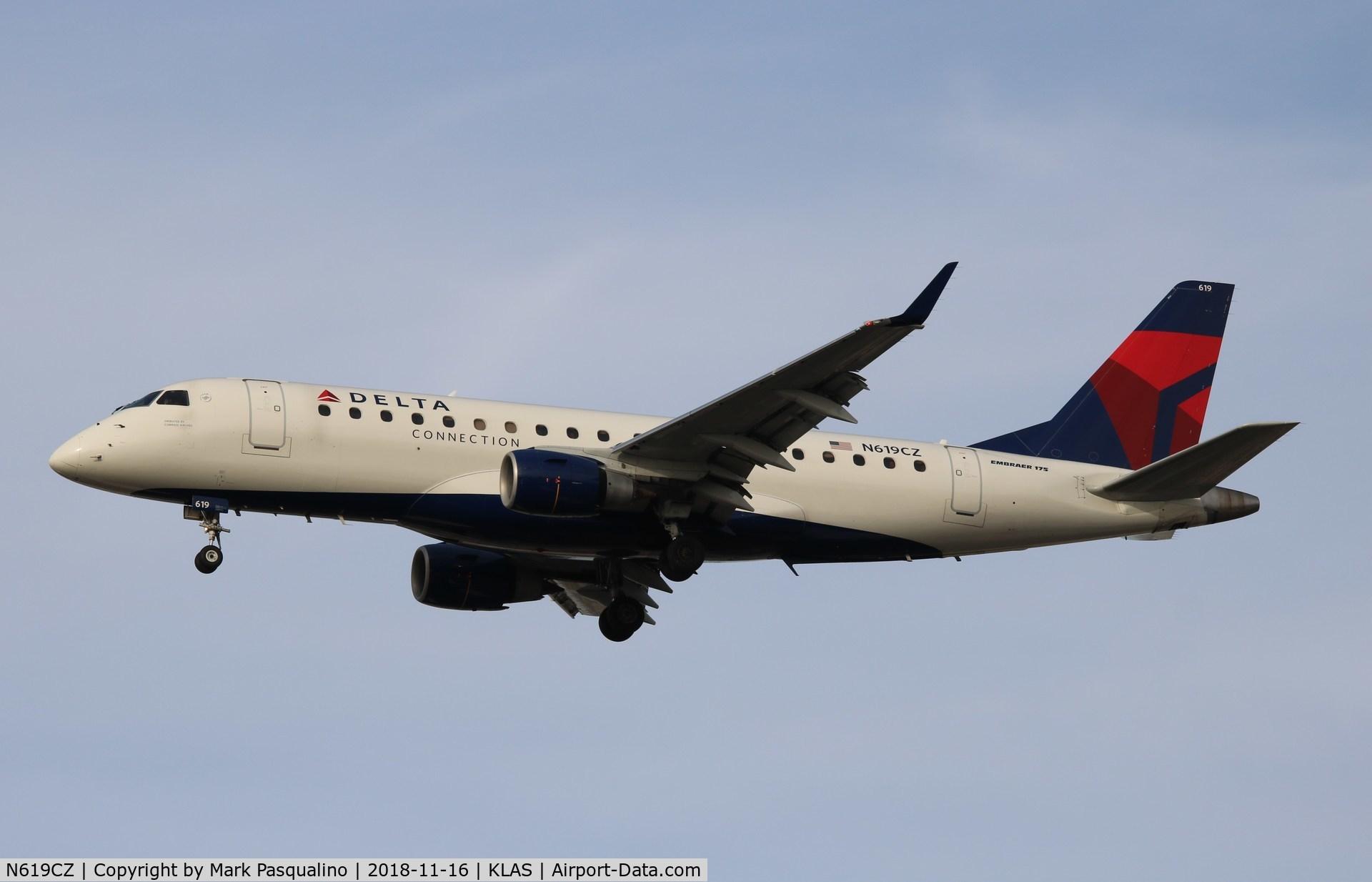 N619CZ, 2008 Embraer 175LR (ERJ-170-200LR) C/N 17000213, ERJ-170-200 LR