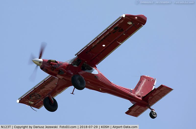 Aircraft N123T (2008 PZL-Okecie PZL-104MA Wilga-2000 C/N
