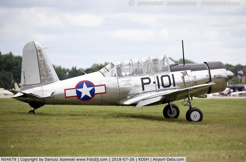 N54679, 1941 Consolidated Vultee BT-13A C/N 2990, Consolidated Vultee BT-13A Valiant C/N 2990, N54679