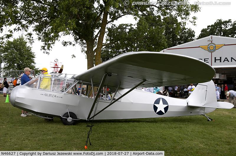 N46627, Piper TG-8 C/N G-184, Piper TG-8  C/N G-184, N46627