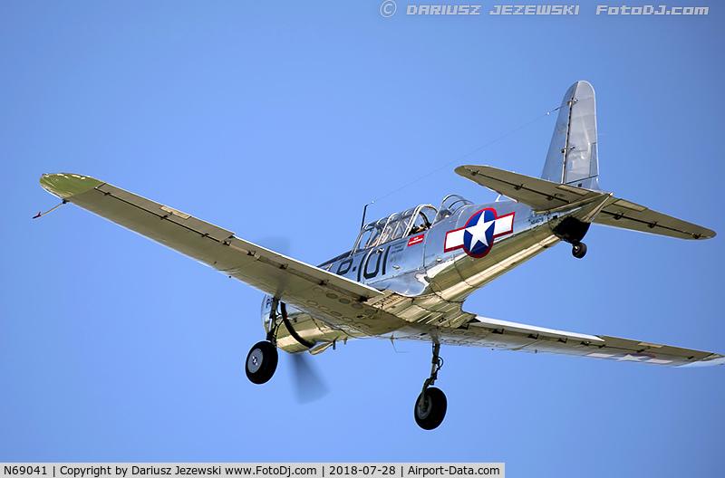 N69041, 1942 Consolidated Vultee BT-13A C/N 6462, Consolidated Vultee BT-13A Valiant  C/N 6462, N69041
