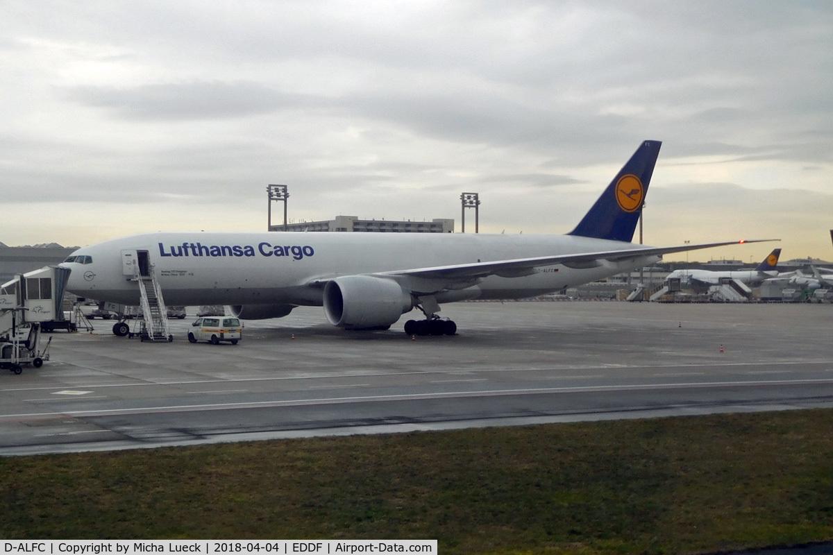 D-ALFC, 2014 Boeing 777-FBT C/N 41676, At Frankfurt