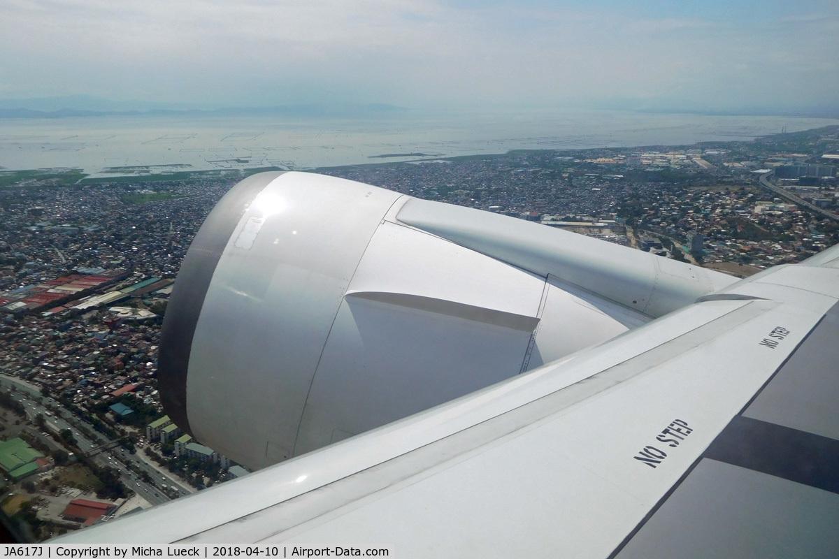 JA617J, 2007 Boeing 767-346/ER C/N 35814, MNL-NRT