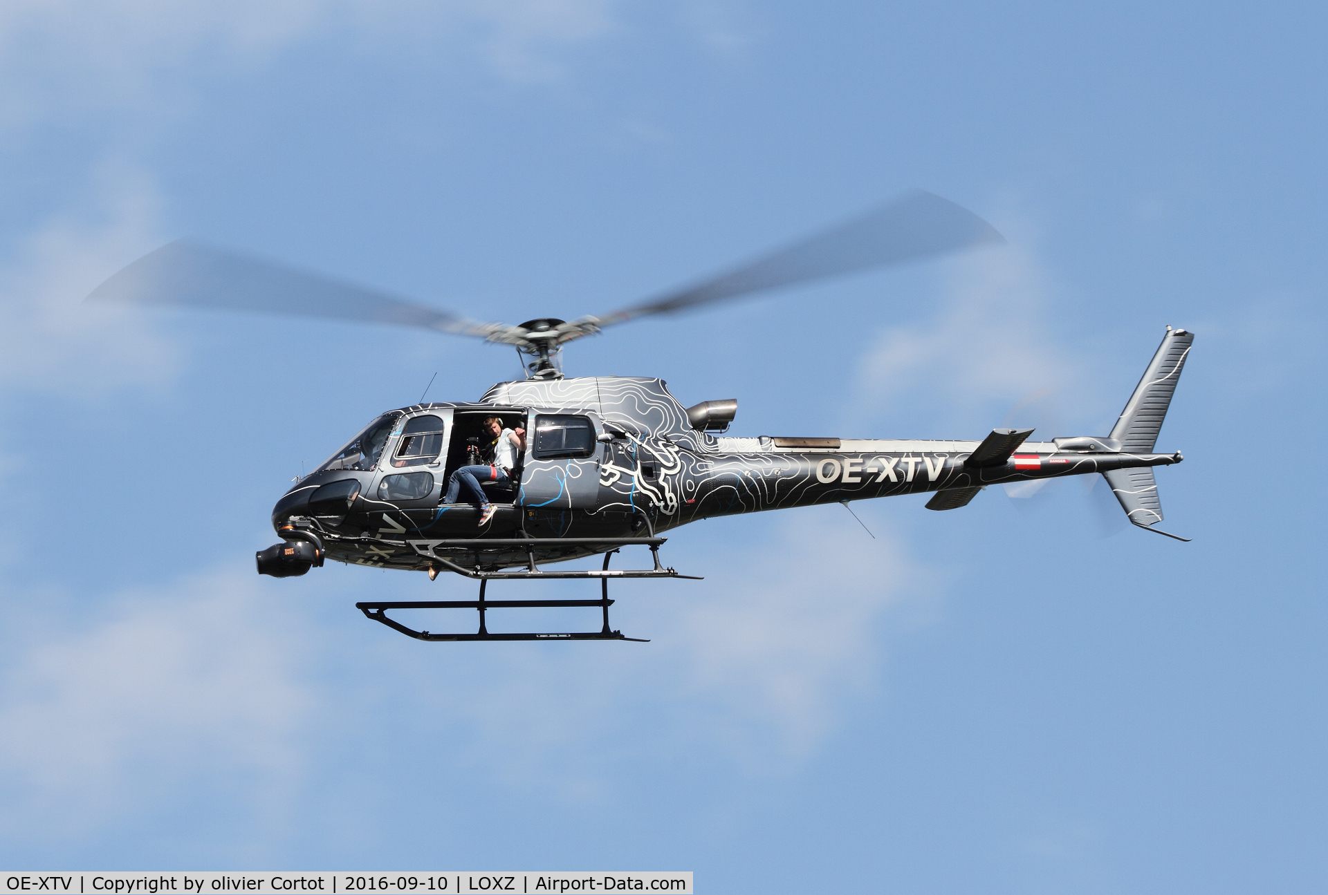 OE-XTV, 2009 Eurocopter AS-350B-3+ Ecureuil C/N 4745, Air Power 16 media helicopter
