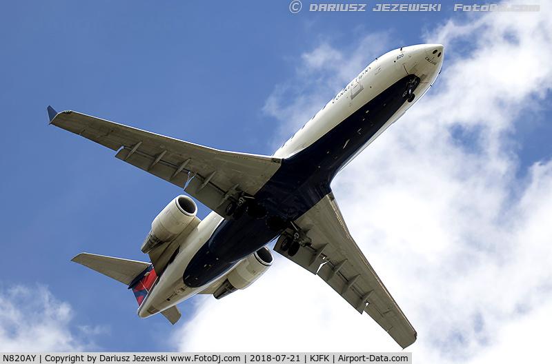 N820AY, 2005 Bombardier CRJ-200LR (CL-600-2B19) C/N 8020, Bombardier CRJ-200LR (CL-600-2B19) - Delta Connection (Pinnacle Airlines)   C/N 8020, N820AY