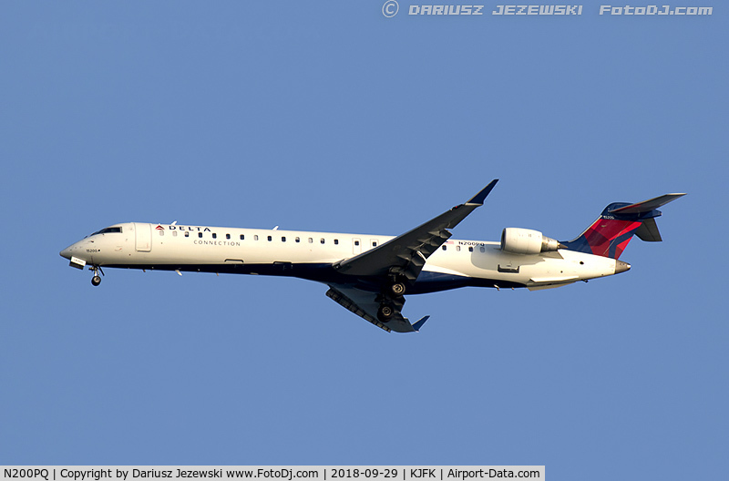 N200PQ, Bombardier CRJ-900ER (CL-600-2D24) C/N 15200, Bombardier CRJ-900ER (CL-600-2D24) - Delta Connection (ExpressJet Airlines)   C/N 15200, N200PQ
