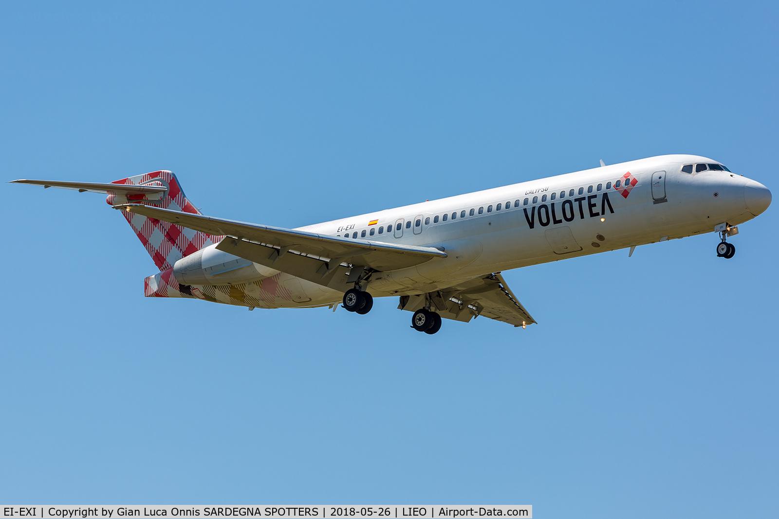 EI-EXI, 2003 Boeing 717-2BL C/N 55174, LANDING 05R