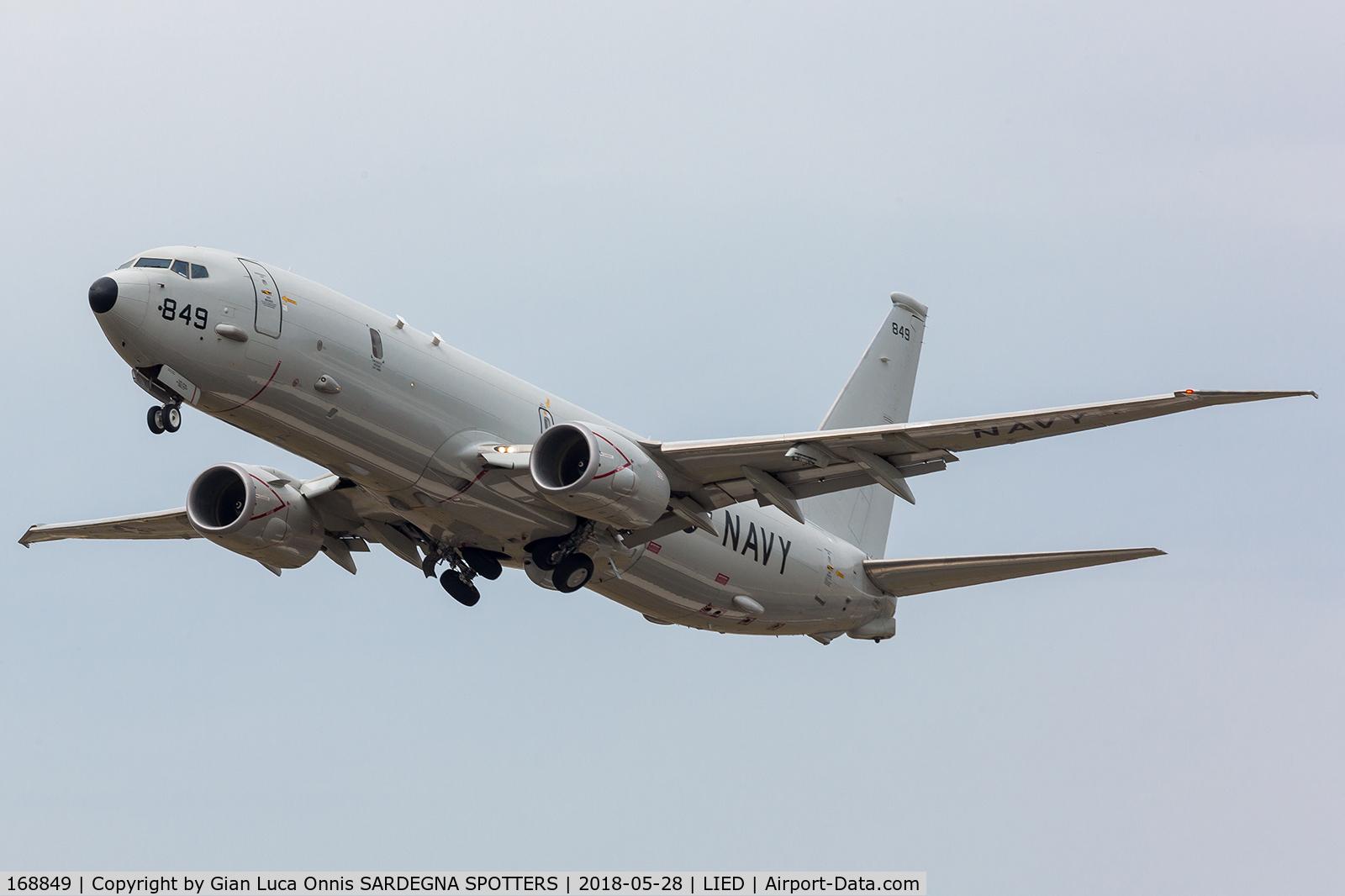 168849, Boeing P-8A Poseidon C/N 44141, TAKE OFF 35R