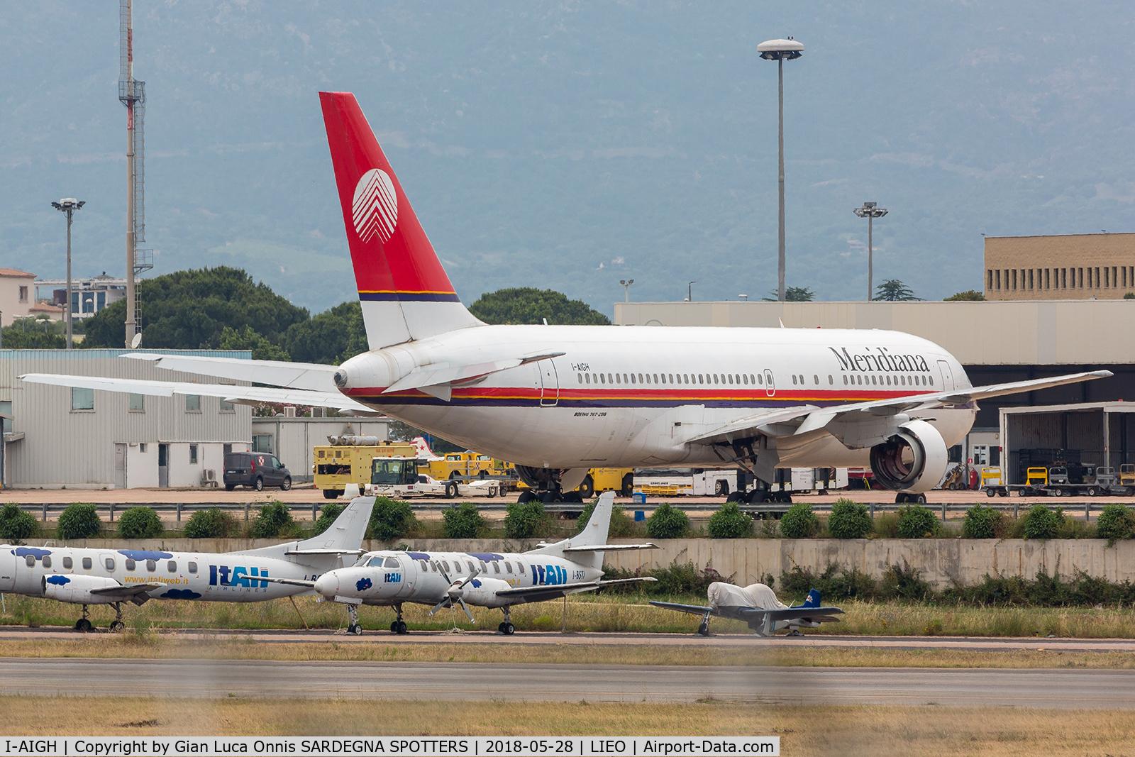 I-AIGH, 1988 Boeing 767-23B/ER C/N 23973, IN PARKING
