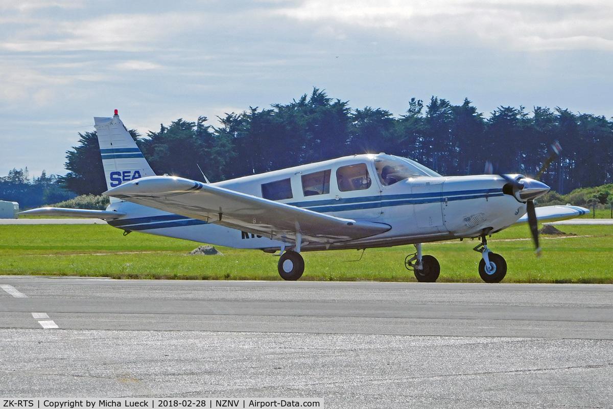 ZK-RTS, Piper PA-32-300 Cherokee Six C/N 32-7340070, At Invercargill