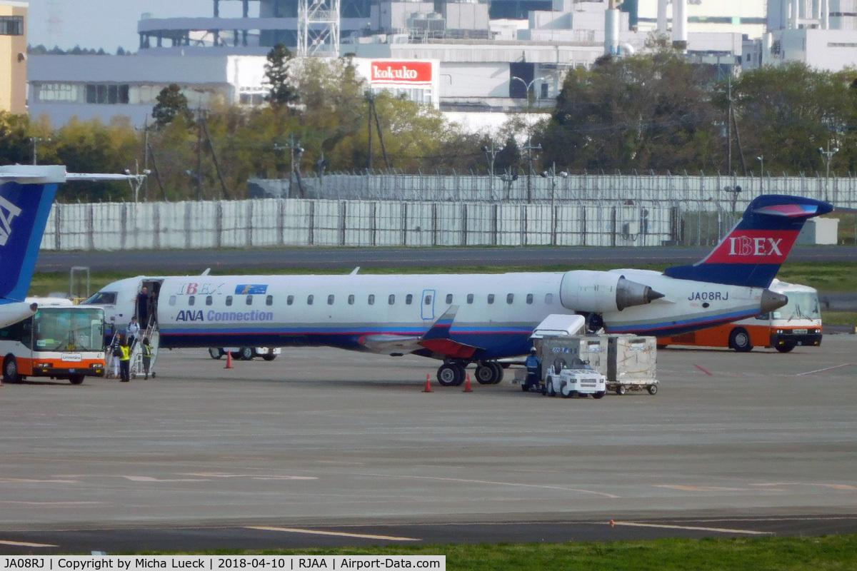 JA08RJ, 2012 Bombardier CRJ-702ER NG (CL-600-2C10) C/N 10333, At Narita