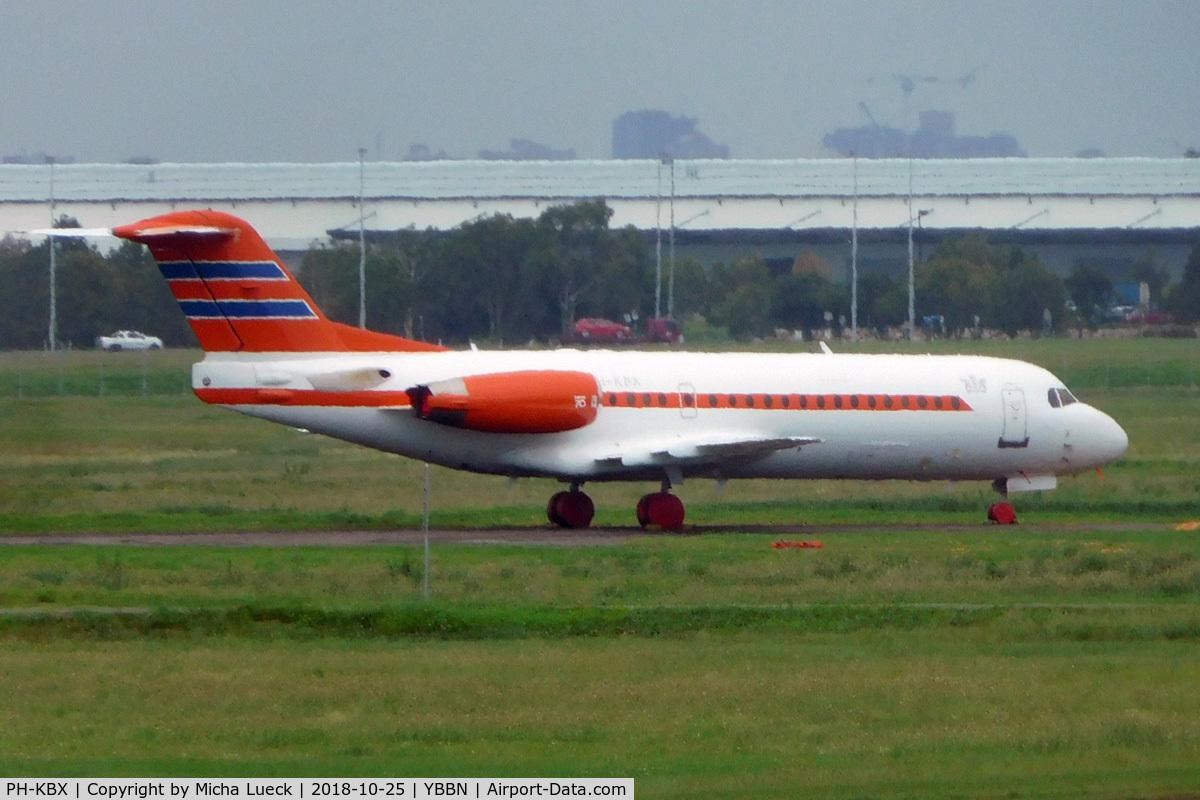 PH-KBX, 1996 Fokker 70 (F-28-0070) C/N 11547, At Brisbane