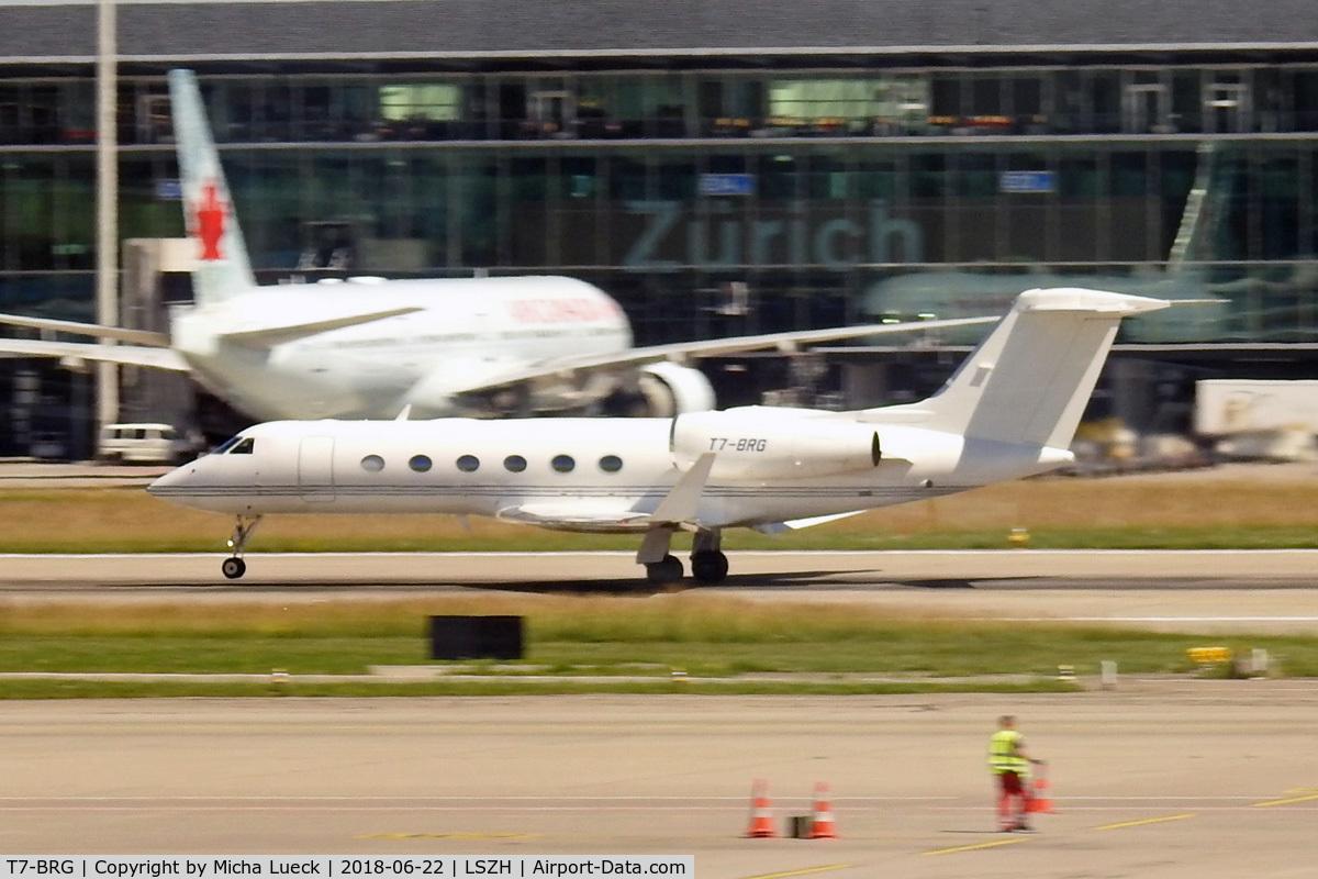 T7-BRG, 2013 Gulfstream Aerospace GIV-X (G450) C/N 4295, At Zurich