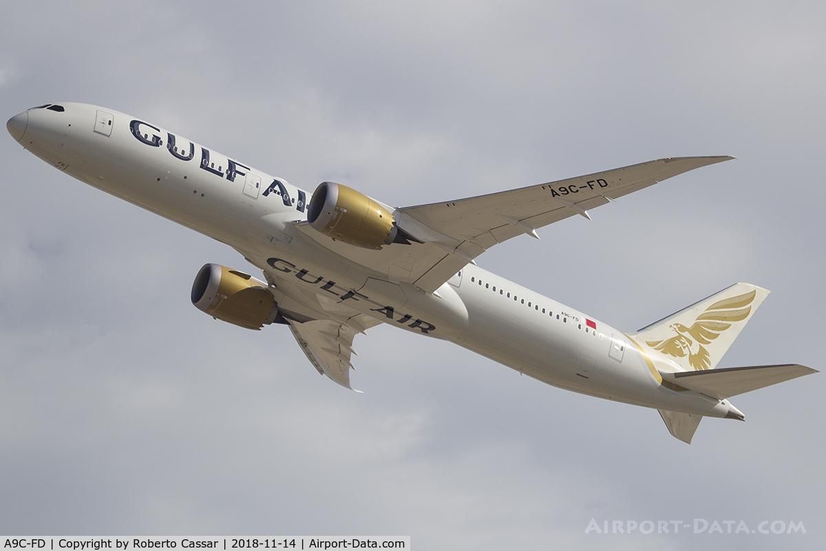 A9C-FD, 2018 Boeing 787-9 Dreamliner Dreamliner C/N 39983, BIAS 2018 - SAKHIR AIRBASE OBKH