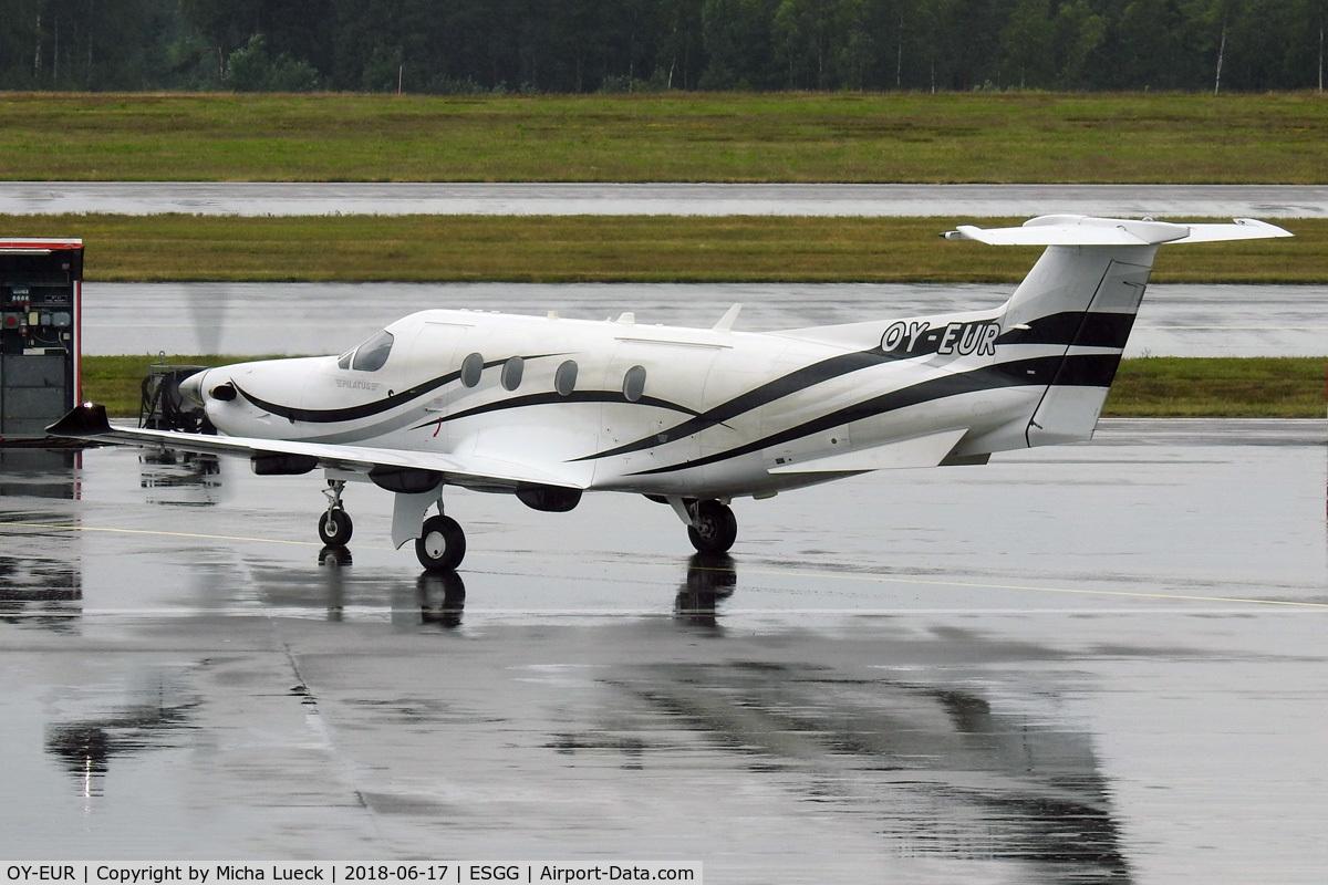 OY-EUR, 2014 Pilatus PC-12/47E C/N 1479, At Gothenburg