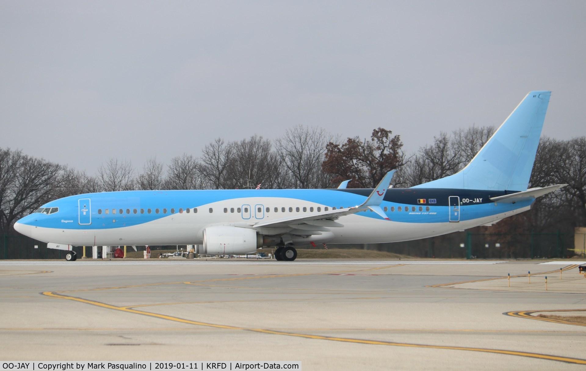 OO-JAY, 2013 Boeing 737-8K5 C/N 40944, Boeing 737-8K5