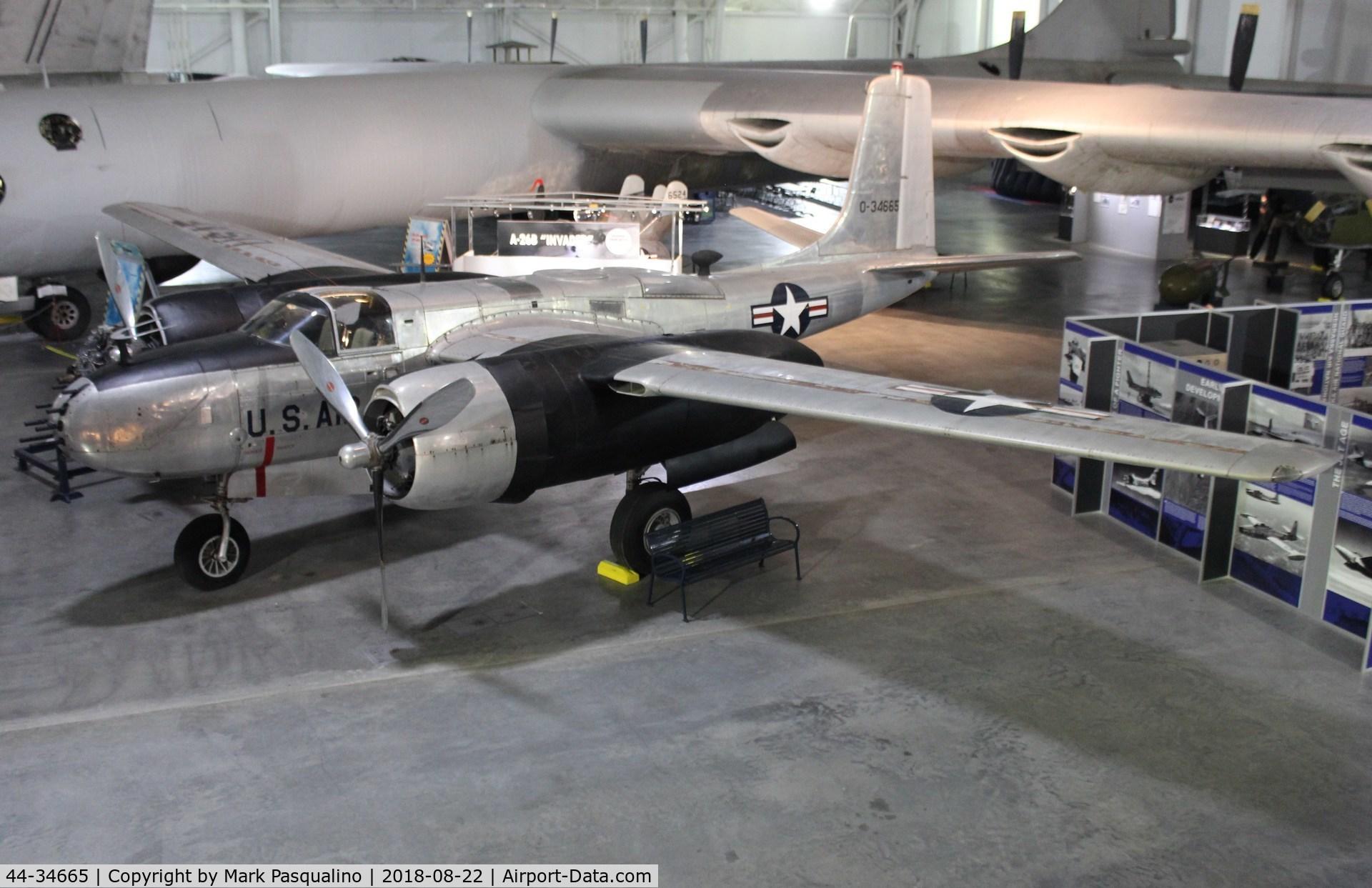 44-34665, 1944 Douglas A-26B Invader C/N 27944, Douglas A-26B