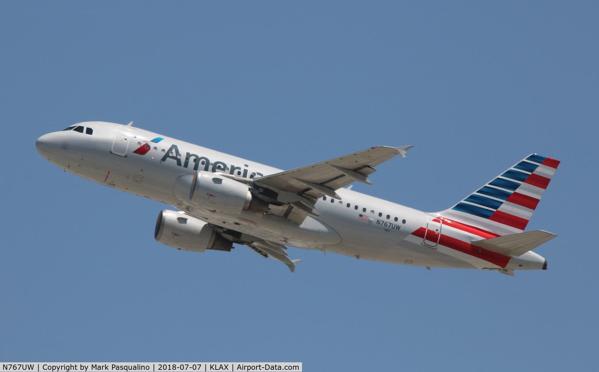 N767UW, 2000 Airbus A319-112 C/N 1382, Airbus A319-112