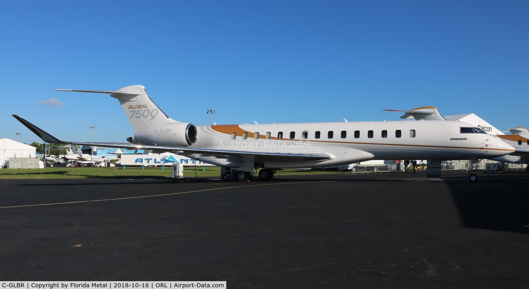 C-GLBR, 2017 Bombardier BD-700-2A12 Global 7000 C/N 70004, Global 7500