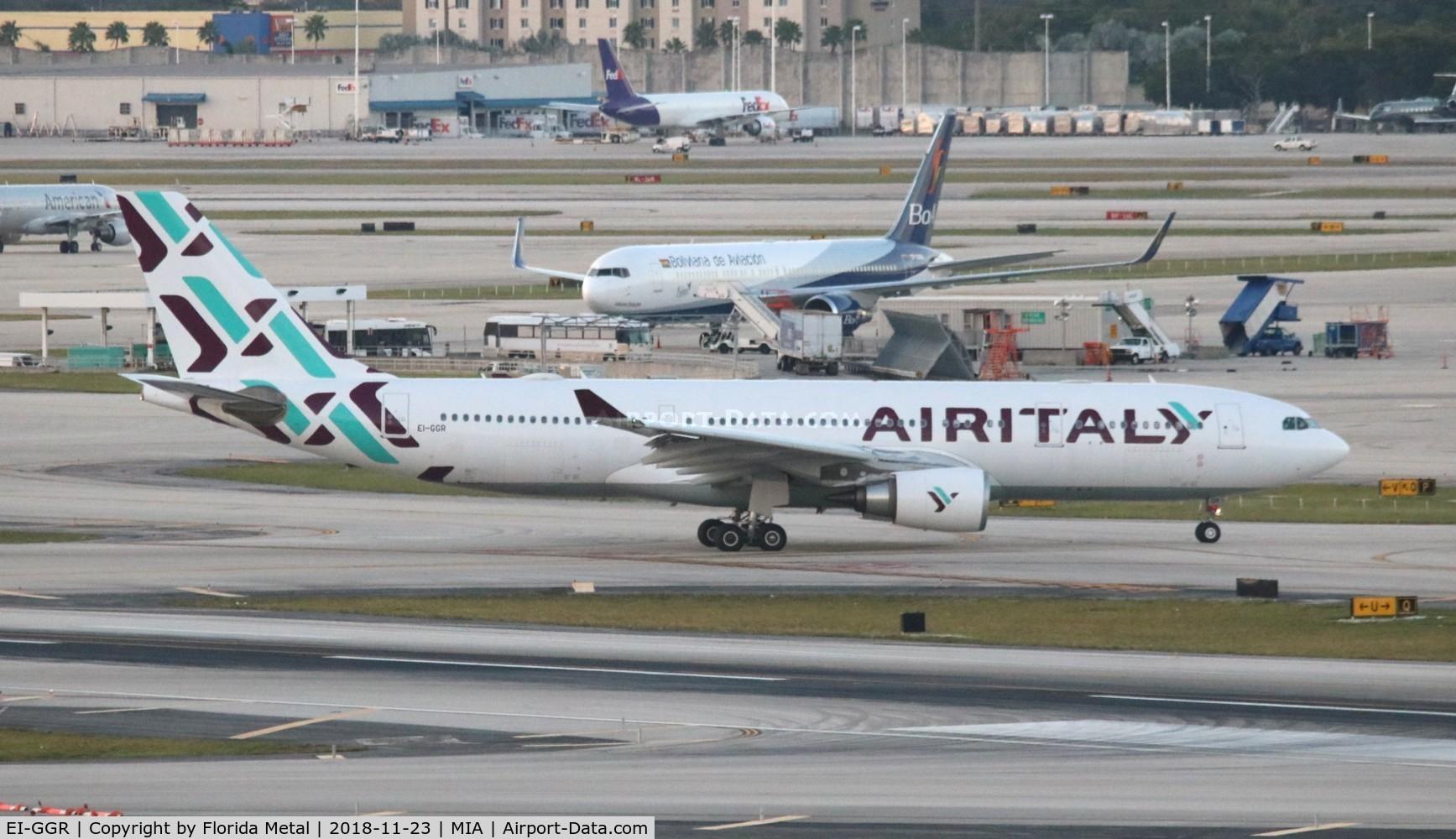 EI-GGR, 2004 Airbus A330-202 C/N 638, Air Italy