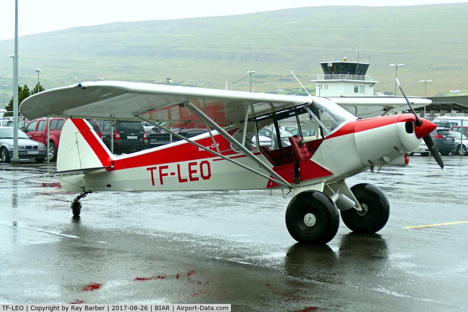 TF-LEO, Piper PA-18-150 Super Cub C/N 18-7509074, TF-LEO   Piper PA-18-150 Super Cub [18-7509074] (Flugsafn Islands) Akureyri~TF 26/08/2017
