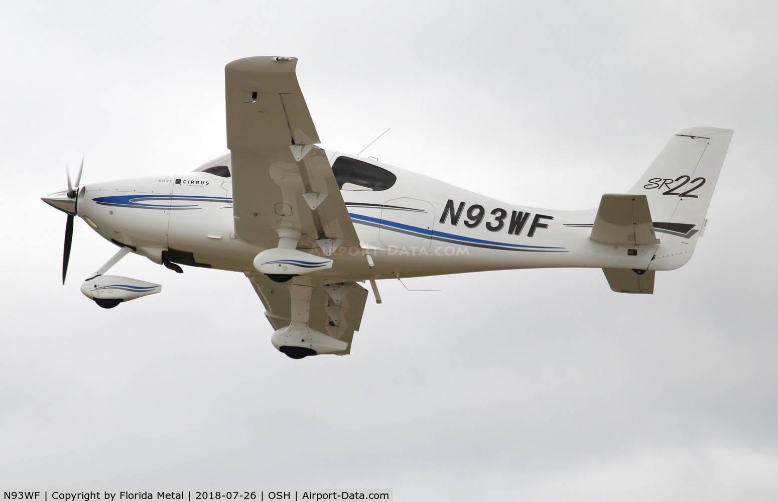 N93WF, 2001 Cirrus SR22 C/N 0087, Cirrus SR22