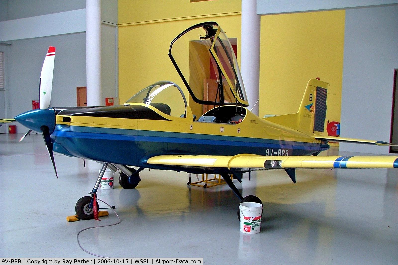 9V-BPB, 2002 Pacific Aerospace CT/4E Airtrainer C/N 232, 9V-BPB   Pacific Aerospace CT/4E Airtrainer [232] (Singapore Youth Flying Club) Seletar~9V 15/10/2006