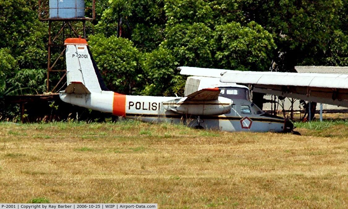 P-2001, Aero Commander 560-A C/N 680-310, P-2001   Aero Commander 560A [310] (Indonesian Police) Jakarta-Pondok Cabe~PK 25/10/2006